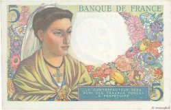 5 Francs BERGER FRANCE  1947 F.05.07 SPL+