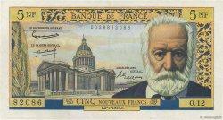 5 Nouveaux Francs VICTOR HUGO FRANCE  1959 F.56.02 TTB+