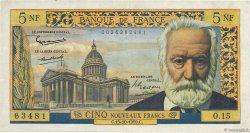 5 Nouveaux Francs VICTOR HUGO FRANCE  1959 F.56.03 TTB