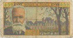 5 Nouveaux Francs VICTOR HUGO FRANCE  1959 F.56.04 pr.B