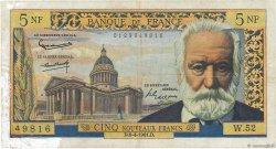 5 Nouveaux Francs VICTOR HUGO FRANCE  1961 F.56.07 TB