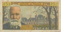 5 Nouveaux Francs VICTOR HUGO FRANCE  1961 F.56.08 B
