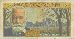 5 Nouveaux Francs VICTOR HUGO FRANCE  1962 F.56.10 B