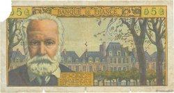 5 Nouveaux Francs VICTOR HUGO FRANCE  1962 F.56.12 AB