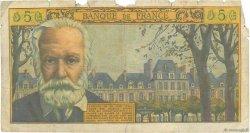 5 Nouveaux Francs VICTOR HUGO FRANCE  1963 F.56.13 AB