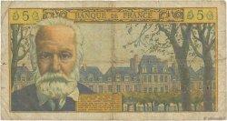 5 Nouveaux Francs VICTOR HUGO FRANCE  1963 F.56.14 B