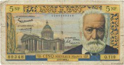 5 Nouveaux Francs VICTOR HUGO FRANCE  1964 F.56.15 pr.B