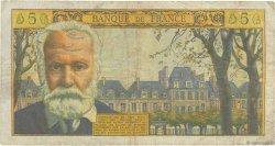 5 Nouveaux Francs VICTOR HUGO FRANCE  1964 F.56.16 pr.TB