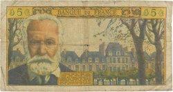 5 Nouveaux Francs VICTOR HUGO FRANCE  1965 F.56.17 AB