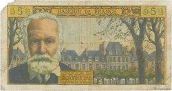 5 Nouveaux Francs VICTOR HUGO FRANCE  1965 F.56.17 pr.B
