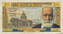 5 Nouveaux Francs VICTOR HUGO FRANCE  1965 F.56.19 TB