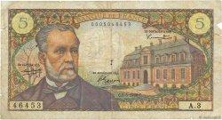 5 Francs PASTEUR FRANCE  1966 F.61.01 B