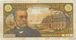 5 Francs PASTEUR FRANCE  1966 F.61.01 B+