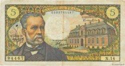 5 Francs PASTEUR FRANCE  1966 F.61.02 TB