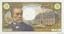 5 Francs PASTEUR FRANCE  1966 F.61.02 SUP+