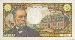 5 Francs PASTEUR FRANCE  1966 F.61.03 TTB