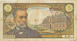 5 Francs PASTEUR FRANCE  1966 F.61.04 B
