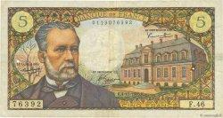 5 Francs PASTEUR FRANCE  1966 F.61.04 TB