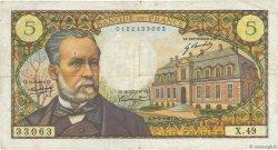 5 Francs PASTEUR FRANCE  1967 F.61.05 TB
