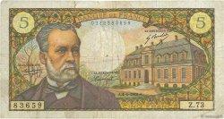 5 Francs PASTEUR FRANCE  1968 F.61.07 B