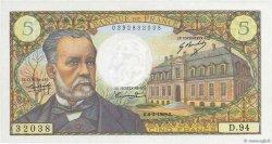 5 Francs PASTEUR FRANCE  1969 F.61.09 SPL