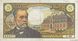 5 Francs PASTEUR FRANCE  1969 F.61.10 TB+