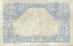 5 Francs BLEU FRANCE  1912 F.02.10 TTB