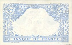 5 Francs BLEU FRANCE  1913 F.02.16 SUP+