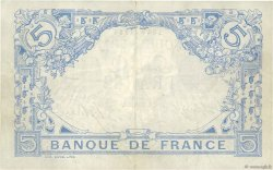 5 Francs BLEU FRANCE  1915 F.02.23 SUP