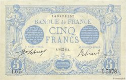 5 Francs BLEU FRANCE  1915 F.02.27 SUP