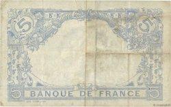 5 Francs BLEU FRANCE  1915 F.02.32 TB+