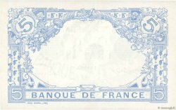 5 Francs BLEU FRANCE  1915 F.02.33 SPL