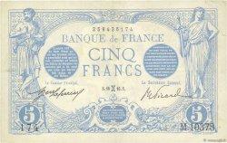 5 Francs BLEU FRANCE  1916 F.02.36 TTB+