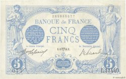 5 Francs BLEU FRANCE  1916 F.02.38 SUP