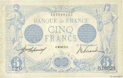 5 Francs BLEU FRANCE  1917 F.02.47 TTB+
