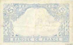 5 Francs BLEU lion inversé FRANCE  1917 F.02bis.04 TTB+