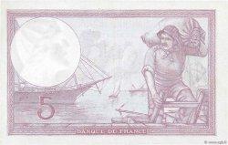 5 Francs VIOLET modifié FRANCE  1939 F.04.04 SPL+