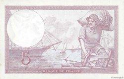 5 Francs VIOLET modifié FRANCE  1939 F.04.05 SUP
