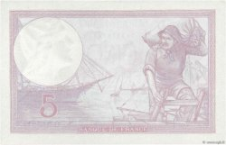 5 Francs VIOLET modifié FRANCE  1939 F.04.07 pr.SPL