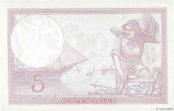 5 Francs VIOLET modifié FRANCE  1939 F.04.13 SPL+