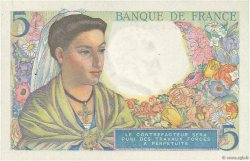 5 Francs BERGER FRANCE  1943 F.05.01 SPL