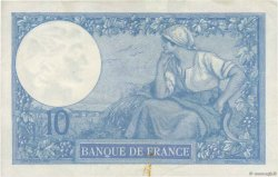10 Francs MINERVE FRANCE  1916 F.06.01 TTB