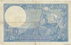 10 Francs MINERVE FRANCE  1916 F.06.01 TB
