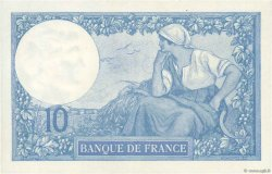 10 Francs MINERVE FRANCE  1918 F.06.03 SPL