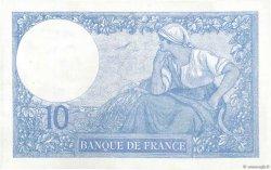 10 Francs MINERVE FRANCE  1921 F.06.05 SUP