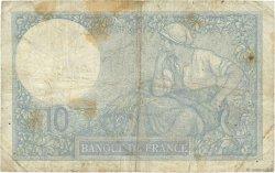 10 Francs MINERVE FRANCE  1923 F.06.07 B+