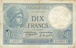 10 Francs MINERVE FRANCE  1924 F.06.08 B+