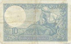 10 Francs MINERVE FRANCE  1925 F.06.09 TB