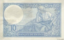 10 Francs MINERVE FRANCE  1927 F.06.12 TTB à SUP