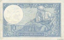 10 Francs MINERVE FRANCE  1931 F.06.15 TTB